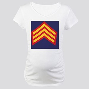 Royal-Marines-Provost-Sergeant-T Maternity T-Shirt