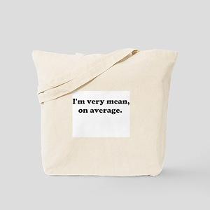 Mean Shirt Tote Bag