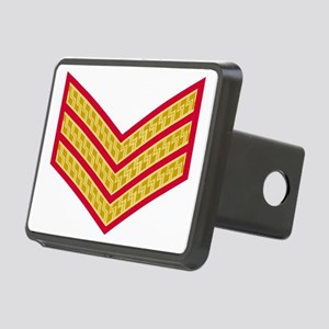 British-Army-Sergeant-Gold Rectangular Hitch Cover