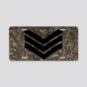 British-Army-Sergeant-Subdu Aluminum License Plate