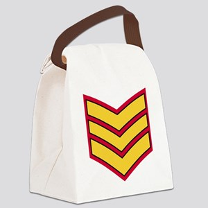 British-Army-Guards-Sergeant-Cap- Canvas Lunch Bag