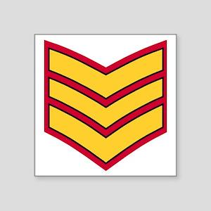 "British-Army-Guards-Sergean Square Sticker 3"" x 3"""