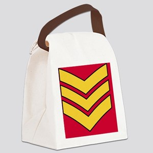3-British-Army-Guards-Sergeant-Ti Canvas Lunch Bag