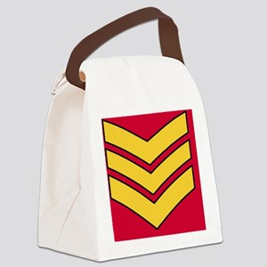 British-Army-Guards-Sergeant-Magn Canvas Lunch Bag