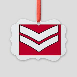 British-Army-Guards-Lance-Corpora Picture Ornament