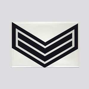 British-Army-HAC-Lance-Corporal-C Rectangle Magnet