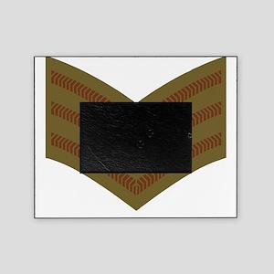 British-Army-Sergeant-Brown-Kkaki-Da Picture Frame
