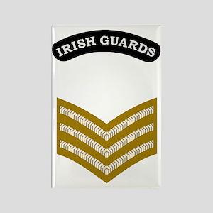 British-Army-Irish-Gds-Sgt-Dark-S Rectangle Magnet