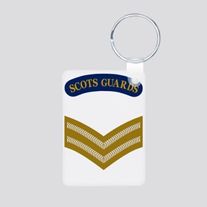 British-Army-Scots-Guards- Aluminum Photo Keychain
