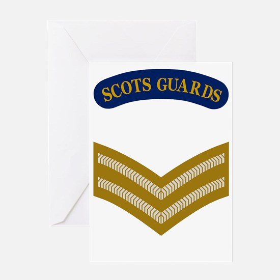 British-Army-Scots-Guards-LCPL.gif Greeting Card
