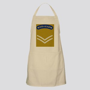 British-Army-Scots-Guards-LCpl-Greetings Apron