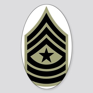 Army-SGM-Vietnam-Era Sticker (Oval)