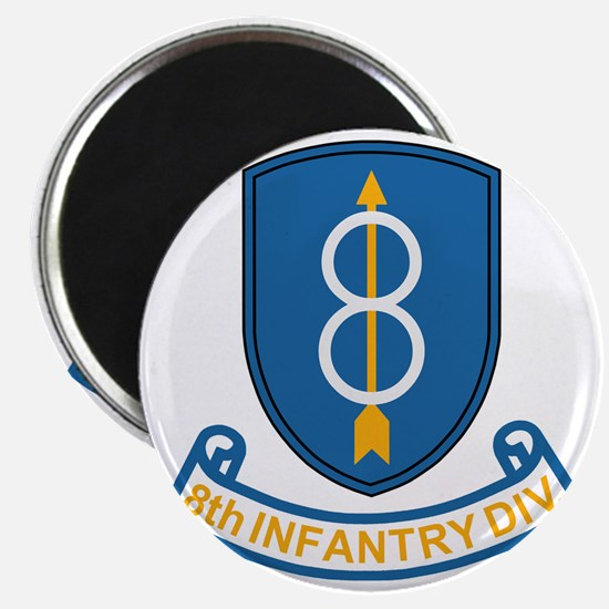 Army-8th-Infantry-Div-3-Bonnie.gif Magnet