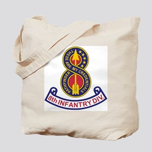 3-Army-8th-Infantry-Div-5-Bonnie Tote Bag