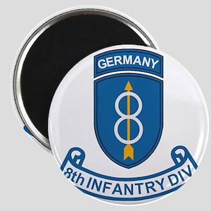 Army-8th-Infantry-Div-6-Bonnie Magnet