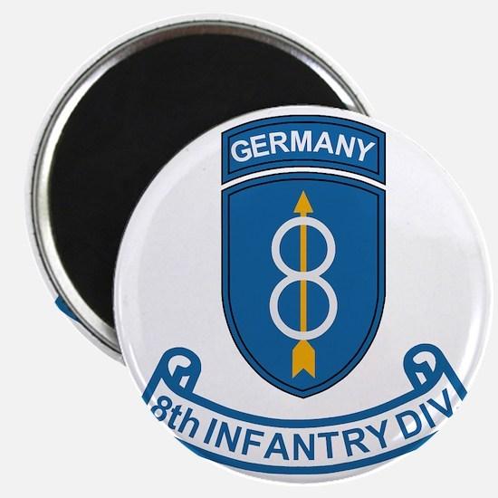 Army-8th-Infantry-Div-6-Bonnie.gif Magnet