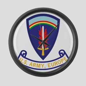 Army-US-Army-Europe-2-Bonnie Large Wall Clock