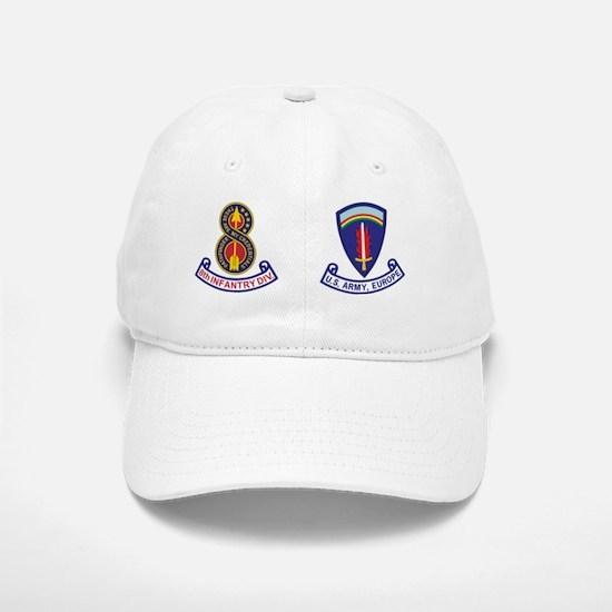 Army-8th-Infantry-Div-Mug-3.gif Baseball Baseball Cap