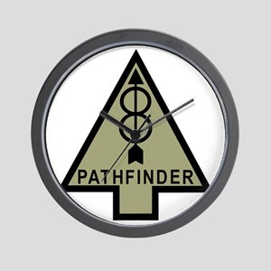 Army-8th-Infantry-Div-Pathfinder-Dark-2 Wall Clock