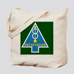 Army-8th-Infantry-Div-Pathfinder-Tile Tote Bag
