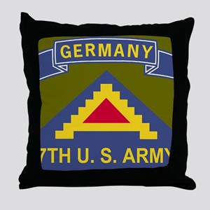 Army-7th-Army-Journal Throw Pillow