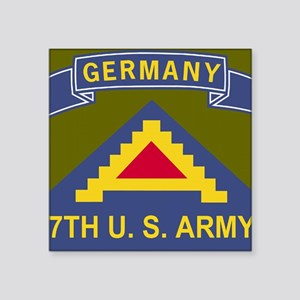 "Army-7th-Army-Journal Square Sticker 3"" x 3"""