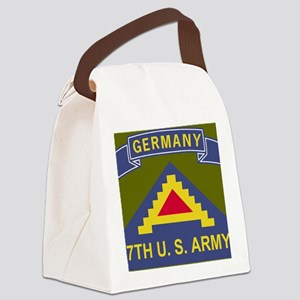 Army-7th-Army-Journal Canvas Lunch Bag