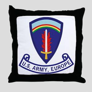 Army-US-Army-Europe-2-Bonnie Throw Pillow