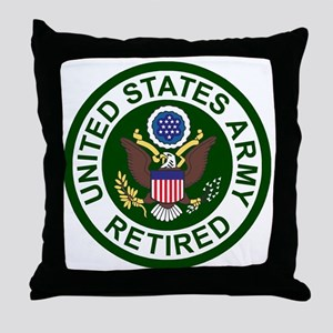 3-Army-Retired-For-Stripes-2 Throw Pillow