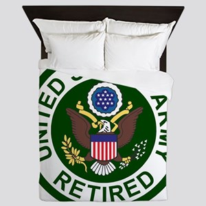 3-Army-Retired-For-Stripes-2 Queen Duvet