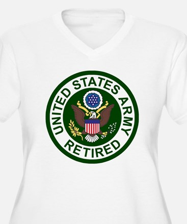 3-Army-Retired-Fo T-Shirt