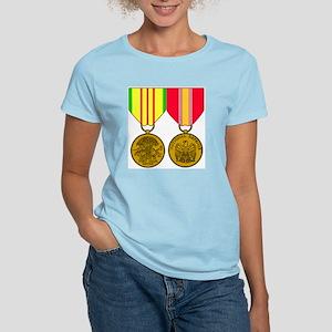 Military-Medal-Vietnam-And-N Women's Light T-Shirt