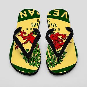 Military-Patch-Vietnam-Veteran-Bonnie-2 Flip Flops