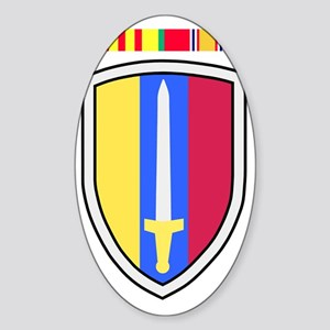 Army-USArmy-Republic-Vietnam-USARV- Sticker (Oval)