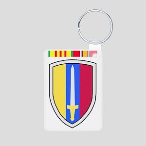 Army-USArmy-Republic-Vietn Aluminum Photo Keychain