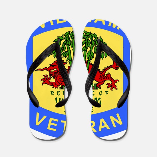 Military-Patch-Vietnam-Veteran-Bonnie-4 Flip Flops