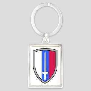 Army-USArmy-Republic-Vietnam-USA Portrait Keychain