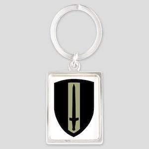 Army-Vietnam-USARV-Dark-2 Portrait Keychain