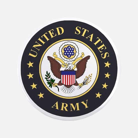 """Army-Emblem-3X-Blue.gif 3.5"""" Button"""