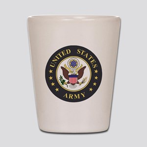 Army-Emblem-3X-Blue Shot Glass