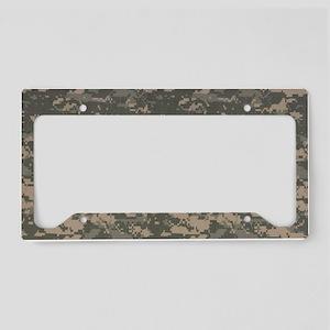 Army-PV2-Black-Cap License Plate Holder