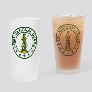 ARNG-Logo-Army-Green Drinking Glass