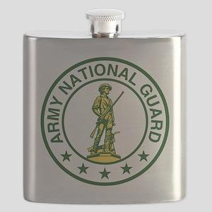 ARNG-Logo-Army-Green Flask