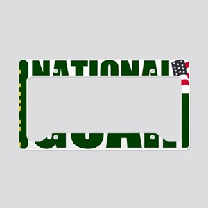 ARNG-Logo-Text-Green-Shirtbac License Plate Holder