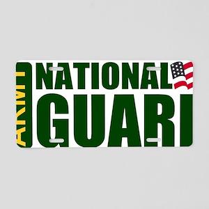 ARNG-Logo-Text-Green-Shirtb Aluminum License Plate