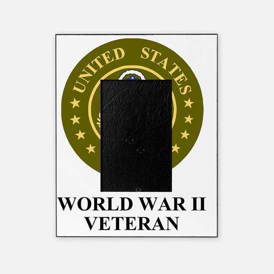 Army-WWII-Veteran-Shirt.gif Picture Frame