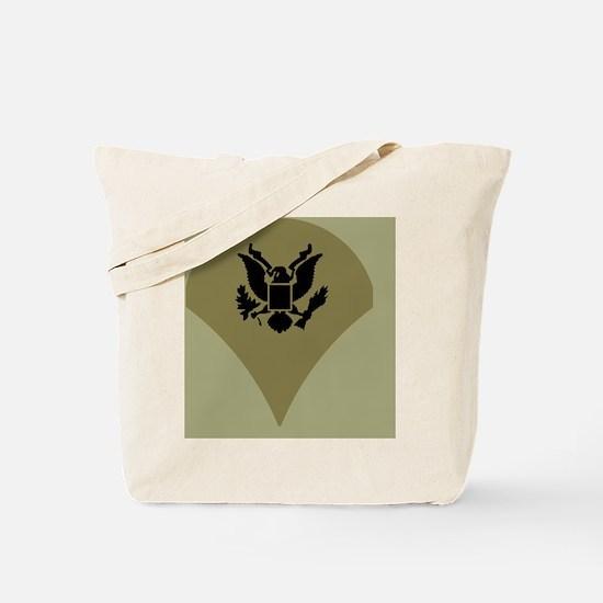 Army-Spec4-Vietnam-Sticker.gif Tote Bag