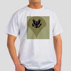Army-Spec4-Vietnam-Tile Light T-Shirt