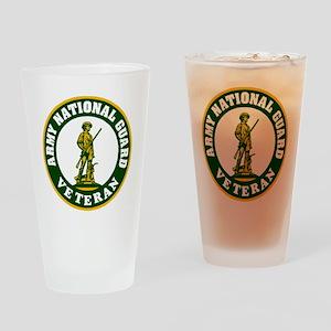 ARNG-Veteran-3-Green Drinking Glass