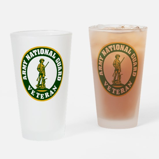 ARNG-Veteran-3-Green.gif Drinking Glass